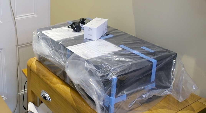 P900 printer setup