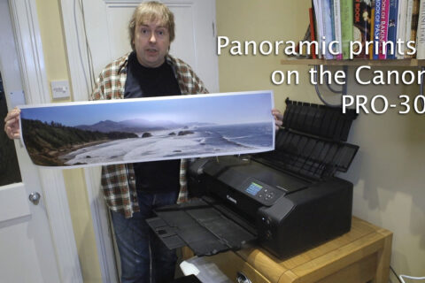 Video: Panoramic prints on the PRO-300