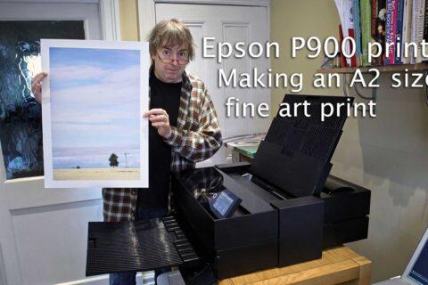 Video: P900 A2 Fine art print