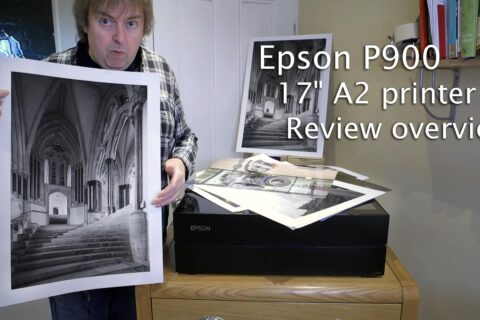 Video: Looking at the Epson P900 printer