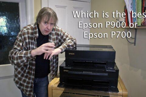 Video: Choosing the P900 or P700 printer