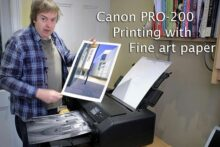 Video: Printing on fine art media with the PRO-200
