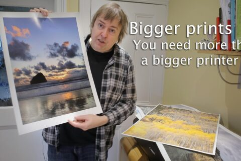 Video: Big prints - more than larger paper