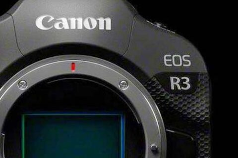 Canon EOS R3 development announcement