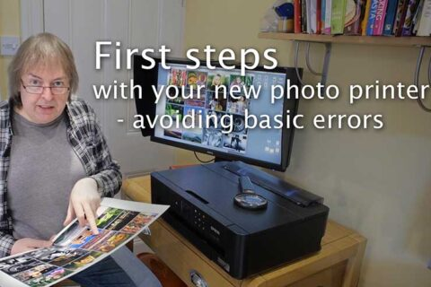 Video: Your first prints with a new printer