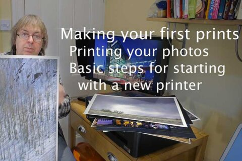 Video: Starting to print your own photos