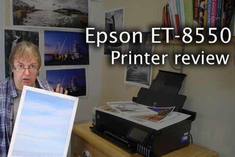 Video: Epson ET-8550 Review
